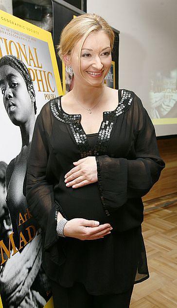 Wojciechowska przygotowuje się do macierzyństwa...