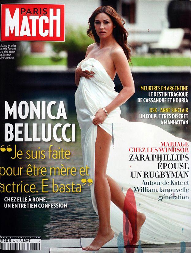 Monica Bellucci w prześcieradle! (PIĘKNA?)