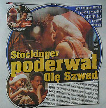 Szwed całuje się ze Stockingerem!