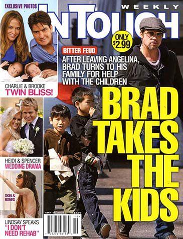 Brad chce przejąć opiekę nad dziećmi!