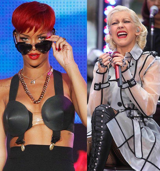 """Aguilera kopiuje Rihannę, a nie Gagę!"""