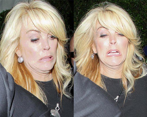 """Wypadek"" matki Lindsay Lohan"