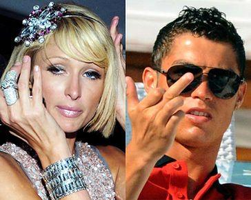 Hilton próbuje zatrzymać Ronaldo!