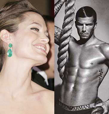 Jolie wystąpi w reklamach z Beckhamem!