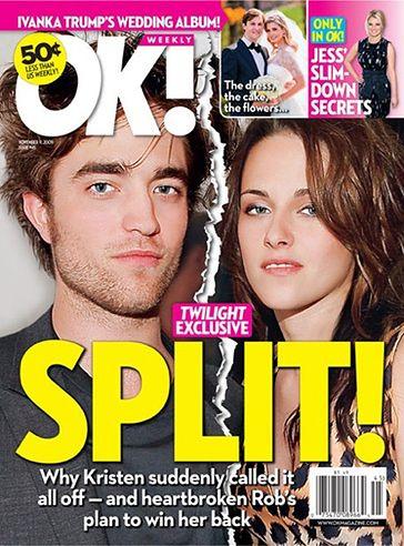 """""""Kristen zerwała z Robertem!"""""""