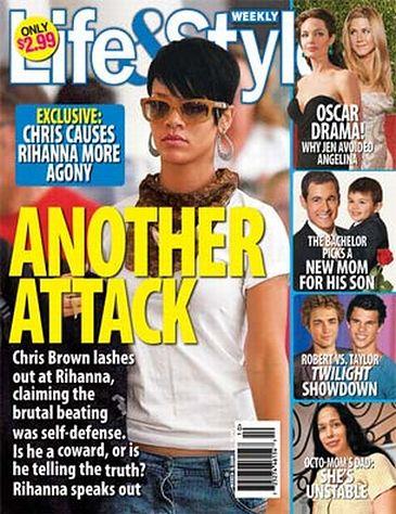 Chris twierdzi, że… bronił się przed Rihanną!