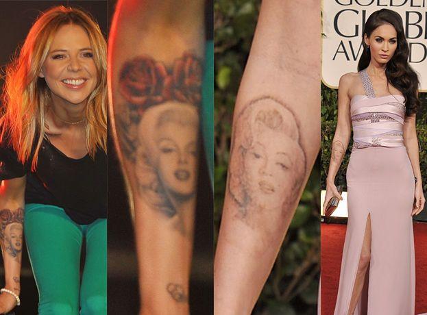 Sablewska kopiuje tatuaże Megan Fox?!