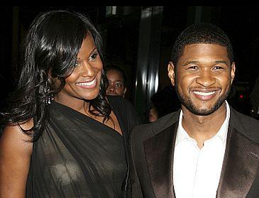 Narzeczona Ushera w szpitalu