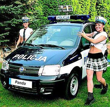 Edyta Herbuś jako sprośna policjantka?