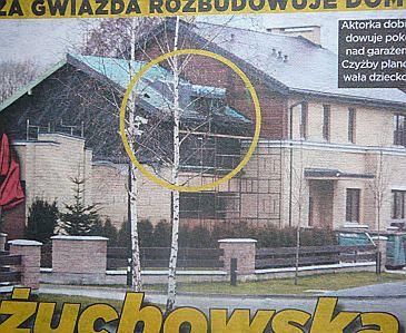 Kożuchowska rozbudowuje dom