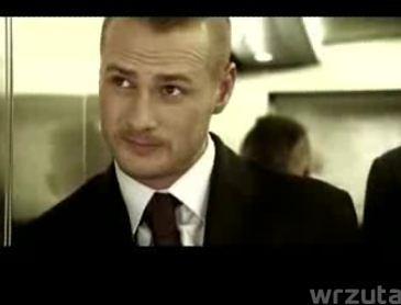 Małaszyński w nowym teledysku Hey!