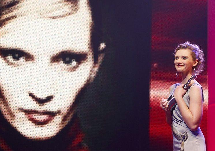 """Agata Buzek """"najbardziej obiecującą europejską aktorką""""!"""