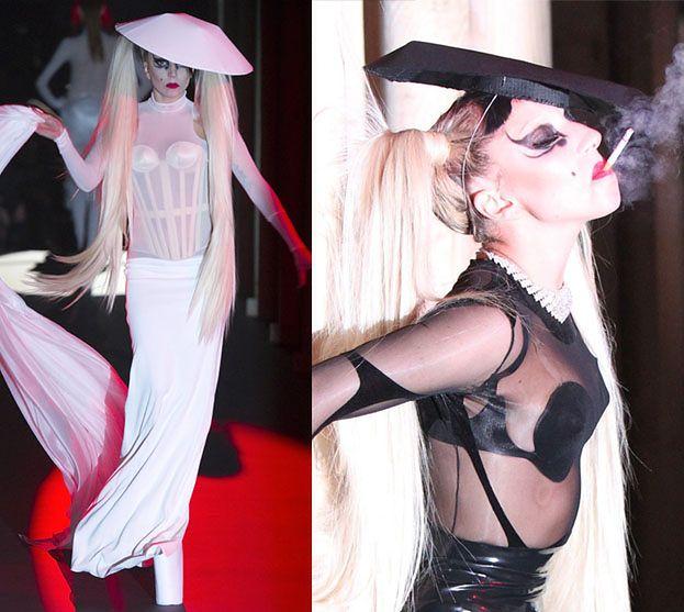 Lady Gaga... MODELKĄ!