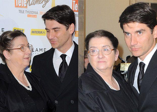 Pogodził się z mamą dla... tych zdjęć?