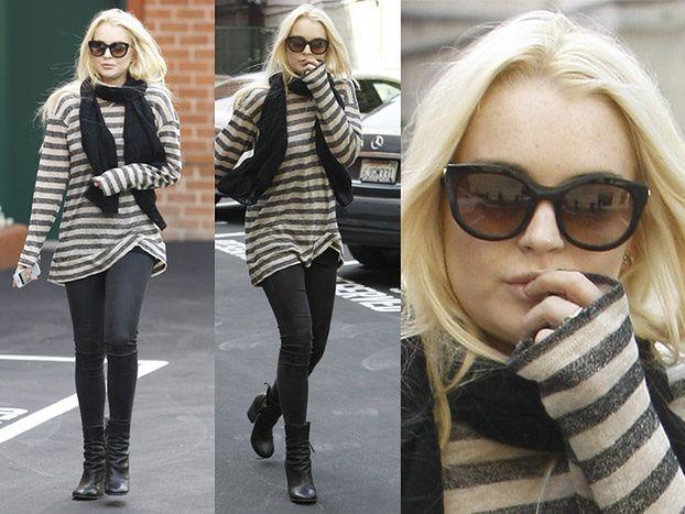 Lindsay Lohan WYSZŁA Z ARESZTU! (ZDJĘCIA)