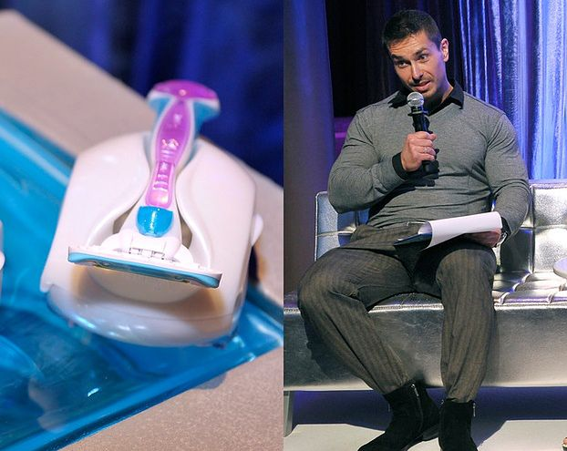 Mąż Skrzyneckiej promuje... maszynki do golenia dla kobiet