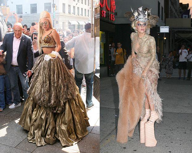 Lady GaGa pozuje Annie Leibovitz! (ZDJĘCIA)