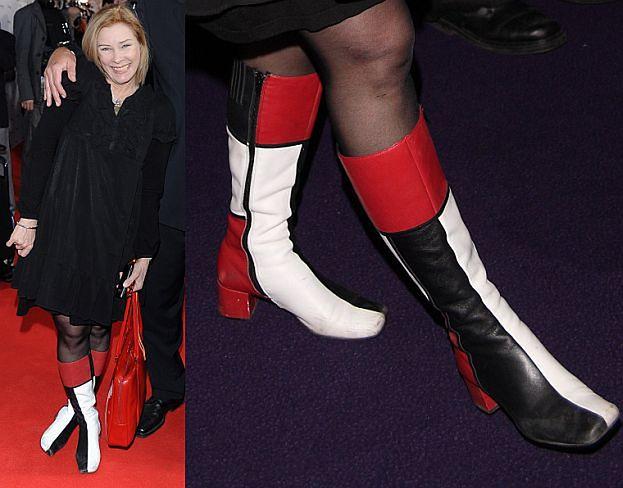 Widzieliście kiedyś brzydsze buty? (CZYJE?)