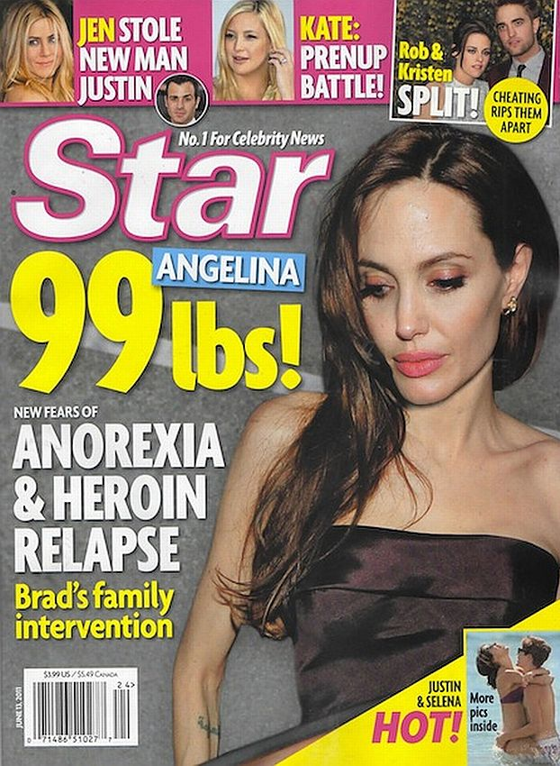 Angelina waży niecałe 45 kilogramów! (FOTO)