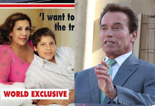 Syn Arnolda nie wiedział, kto jest jego ojcem!