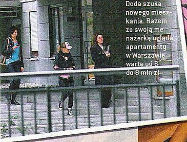 Doda szuka apartamentów od 3 do 8 milionów zł!