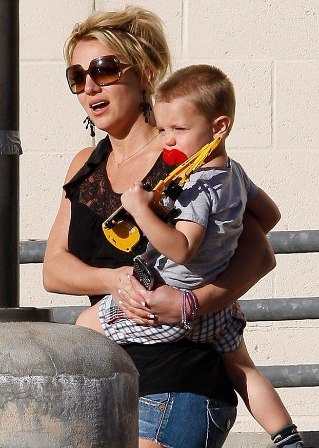 """Britney: """"Moi synowie będą pracowali w show biznesie!"""""""