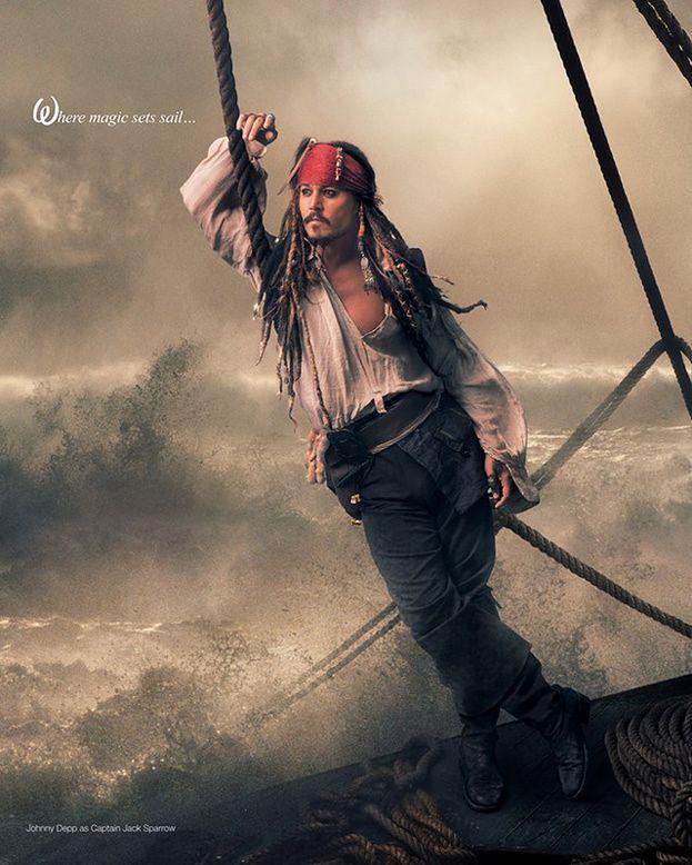 Jack Sparrow w obiektywie Annie Leibovitz!