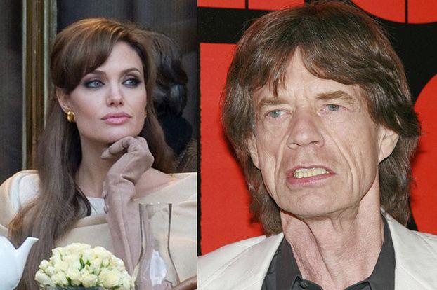 Angelina spała z Mickiem Jaggerem!