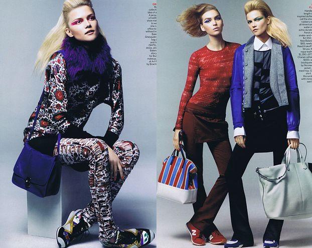 """Kolorowa Kasia Struss amerykańskim """"Vogue'u"""" (FOTO)"""
