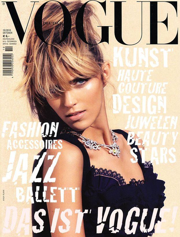 "Anja Rubik w niemieckim ""Vogue'u""! (ZDJĘCIA)"