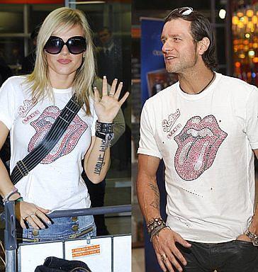 Doda i Majdan w takich samych koszulkach!