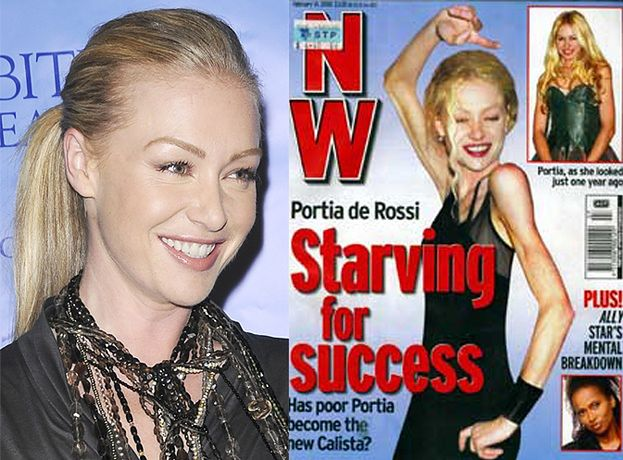 """Portia de Rossi: """"WAŻYŁAM 37 KILO"""""""
