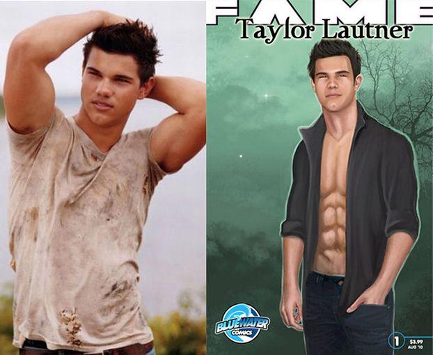 Taylor Lautner bohaterem komiksu!