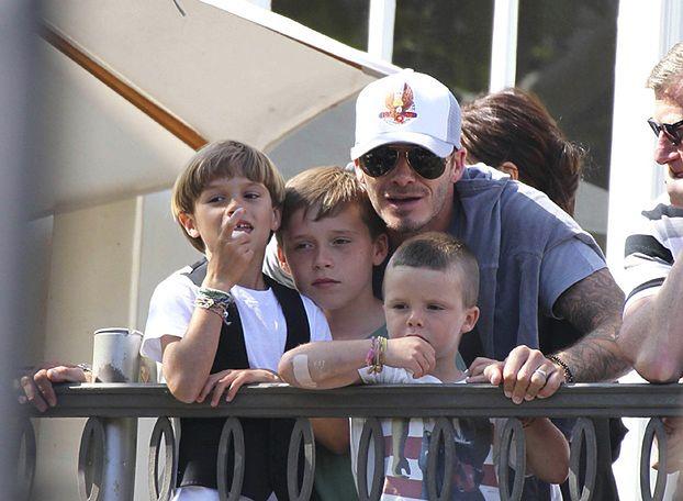 """Beckham do synów: """"Nie wierzcie w te brednie"""""""