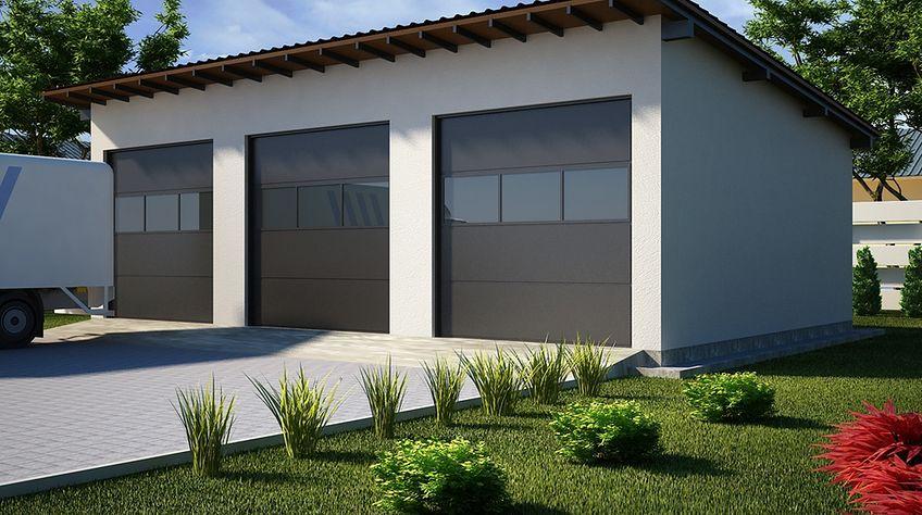 Zdjęcie 1 projektu G35 - Budynek garażowy PRA1034