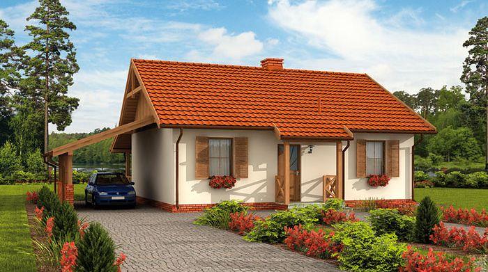 Zdjęcie 1 projektu Barbados 2 dom letniskowy SLN1708