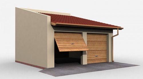 Zdjęcie 1 projektu G27 budynek gospodarczy SLN1807