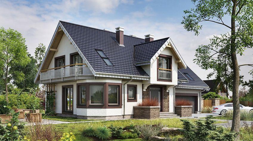 Zdjęcie 1 projektu Turkus - murowana – beton komórkowy KRD2276