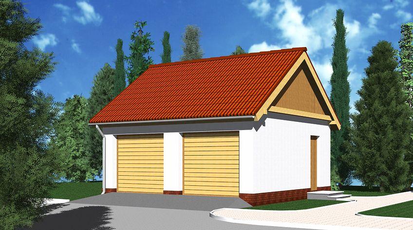 Zdjęcie 1 projektu Garaż G11 WRB1400