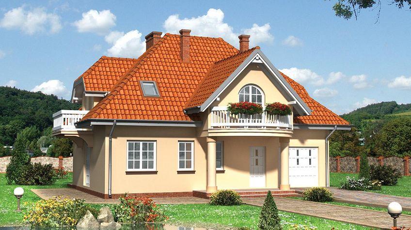 Zdjęcie 1 projektu Ślężan - murowana – ceramika KRD1329