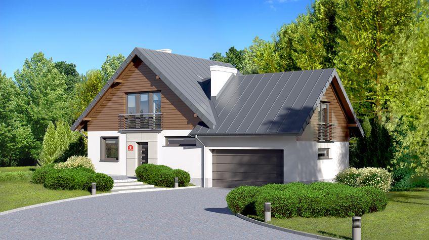 Zdjęcie 1 projektu Dom przy Cyprysowej 8 KRK1225