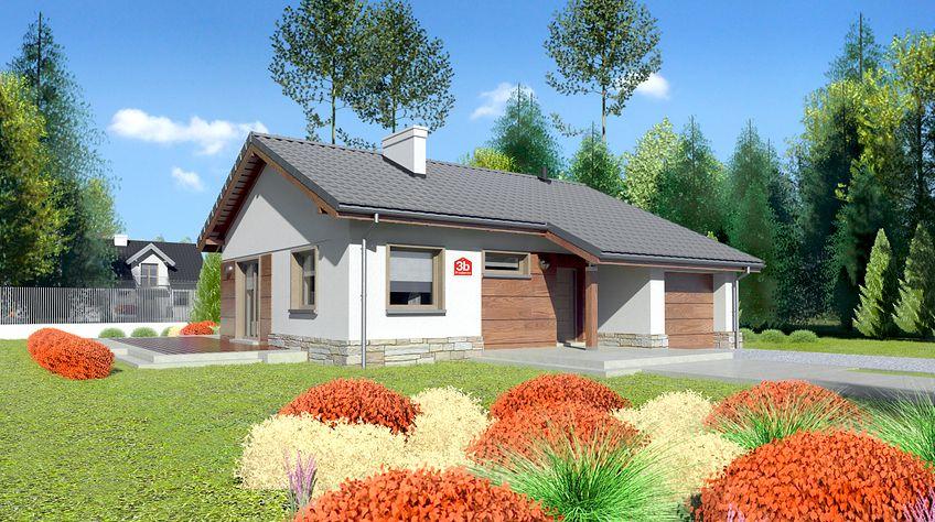 Zdjęcie 1 projektu Dom przy Przyjemnej 3 bis KRK1323