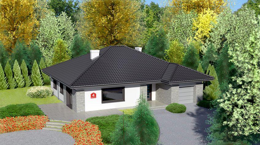 Zdjęcie 1 projektu Dom przy Słonecznej 4 KRK1257