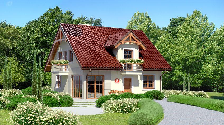 Zdjęcie 1 projektu Dom przy Wiosennej 5 KRK1343