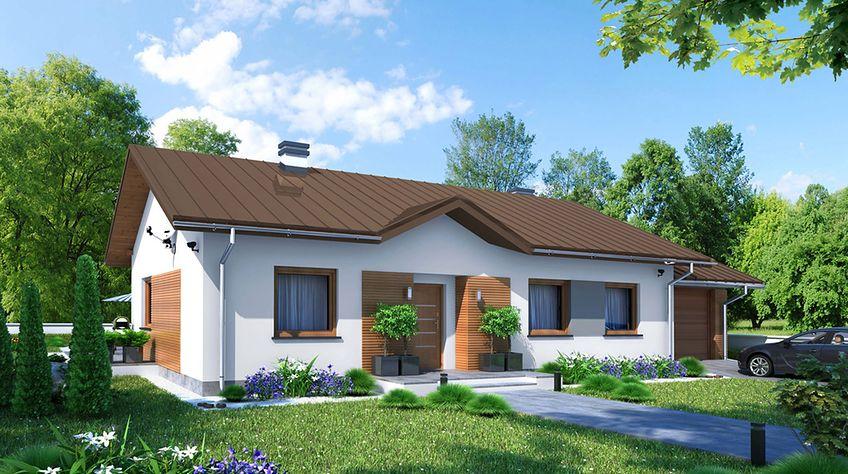 Zdjęcie 1 projektu Dom w Luizjanie 5 KRN1061