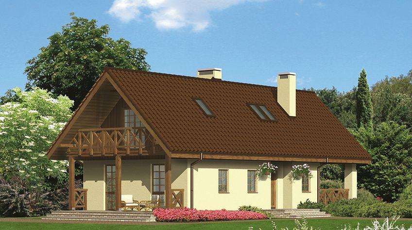 Zdjęcie 1 projektu Murator U04a Budynek agroturystyczny (całoroczny) WAJ2886