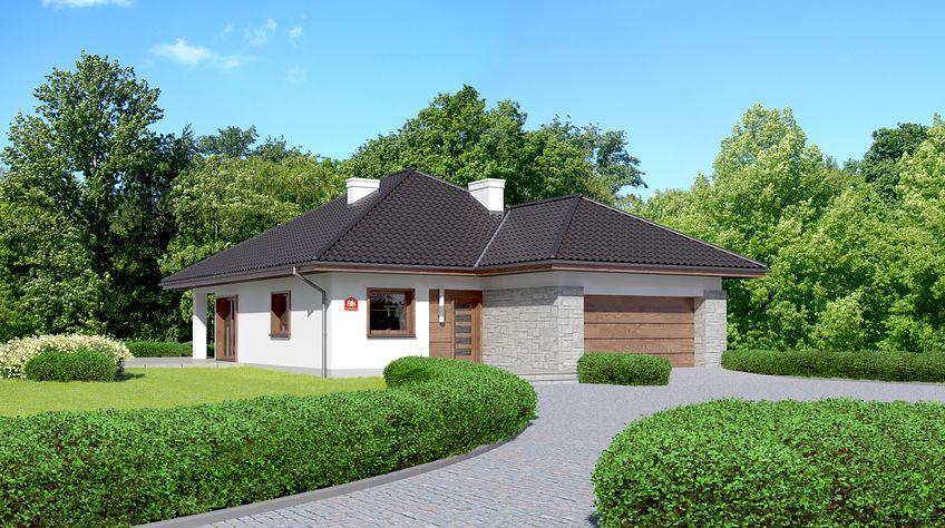 Zdjęcie 1 projektu Dom przy Pastelowej 8 bis KRK1436