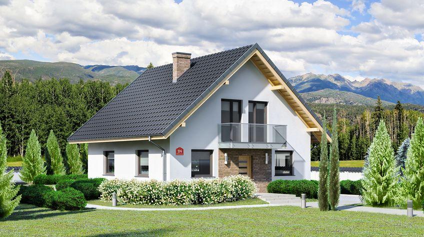 Zdjęcie 1 projektu Dom przy Oliwkowej N KRK1448