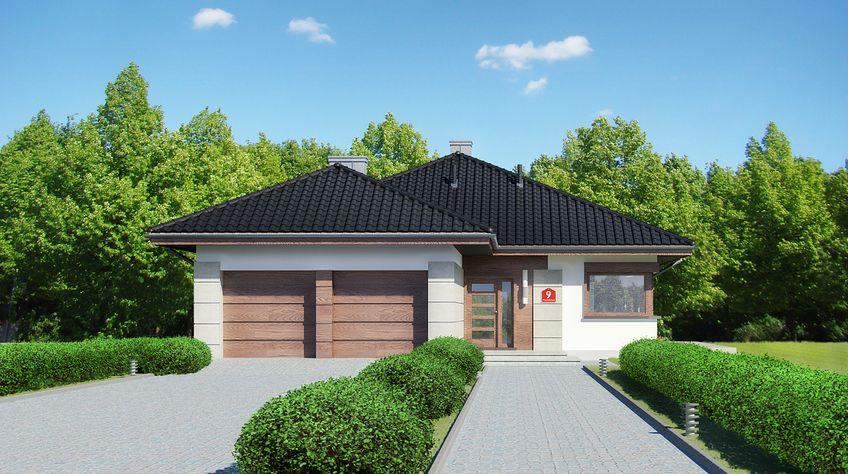 Zdjęcie 1 projektu Dom przy Pastelowej 9 KRK1465