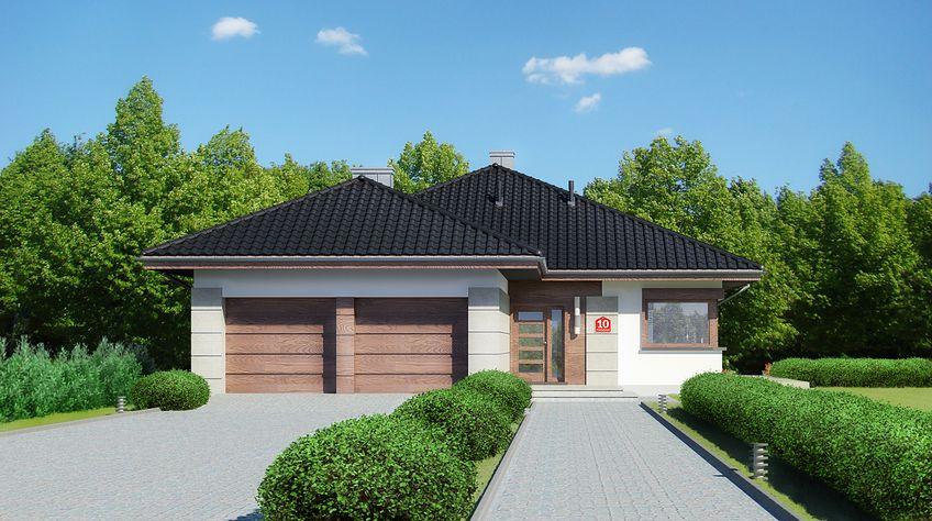 Zdjęcie 1 projektu Dom przy Pastelowej 10 KRK1466